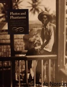 Front cover to the exhibition catalogue of the Royal Geographical Society / British Council's 1998 exhibition Photos and Phantasms, curated by Dr Petrine Archer-Straw
